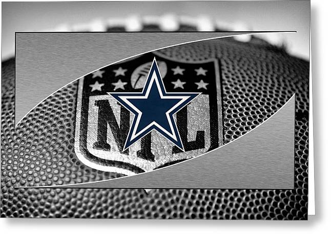 Offense Photographs Greeting Cards - Dallas Cowboys Greeting Card by Joe Hamilton