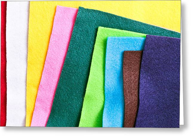 Selection Greeting Cards - Felt Greeting Card by Tom Gowanlock
