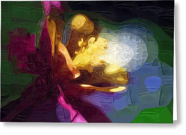 Prints Of Flowers Greeting Cards - Flowers Art prints Greeting Card by Victor Gladkiy