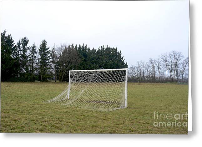 Absence Greeting Cards - Goal Greeting Card by Bernard Jaubert