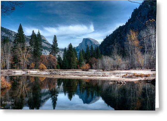 Half Dome Greeting Cards - Half Dome Greeting Card by Bill Roberts