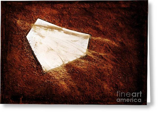 Homeplate Greeting Cards - Home Plate Greeting Card by Lane Erickson