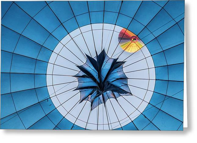 Hot Air Balloon Greeting Card by Photostock-israel