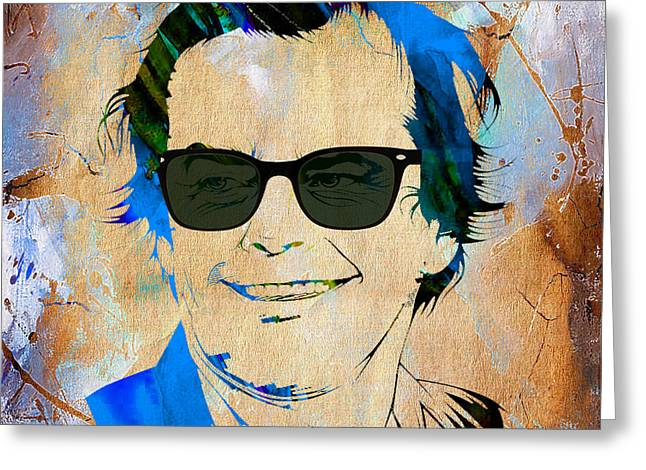 Jack Nicholson Greeting Cards - Jack Nicholson Collection Greeting Card by Marvin Blaine
