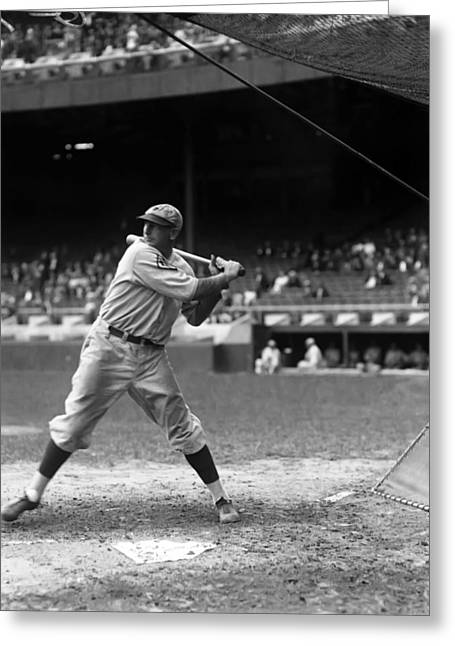 Philadelphia Phillies Stadium Greeting Cards - John W. Jack Scott Greeting Card by Retro Images Archive