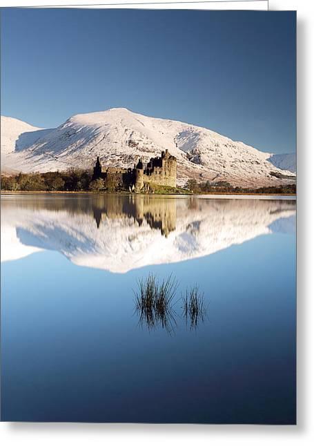 Kilchurn Castle Greeting Cards - Loch Awe Greeting Card by Grant Glendinning