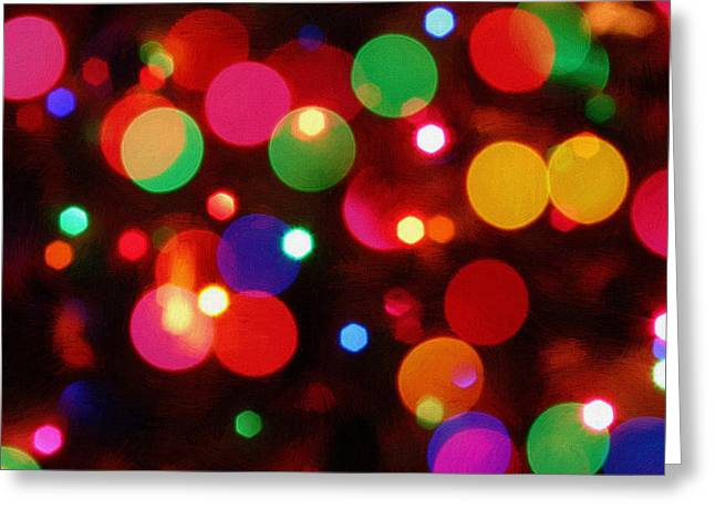 New Year Greeting Cards - Merry Christmas Greeting Card by Victor Gladkiy