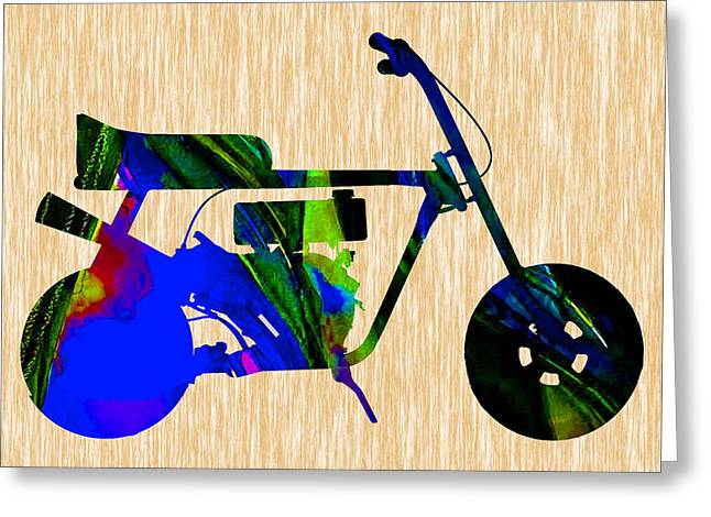 Mini Bike Greeting Cards - Mini Bike Greeting Card by Marvin Blaine