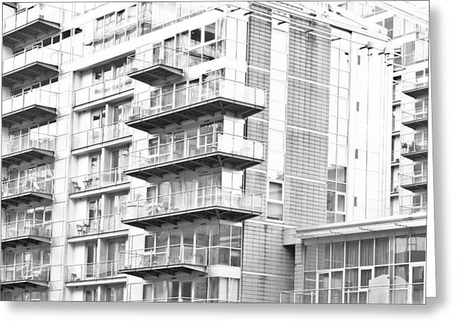 Development Greeting Cards - Modern architecture Greeting Card by Tom Gowanlock