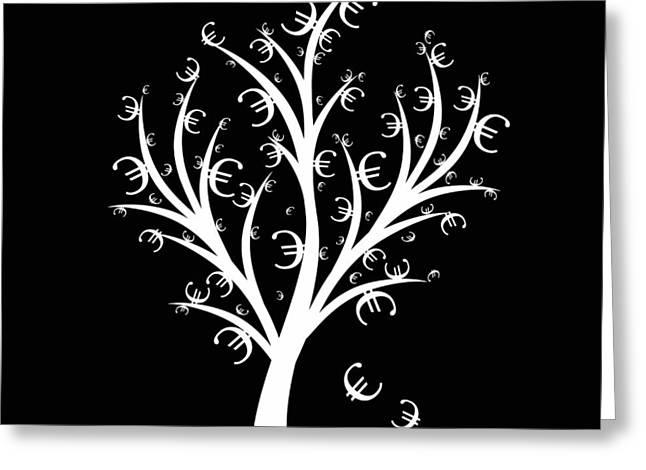 Money Tree Greeting Card by IB Photo