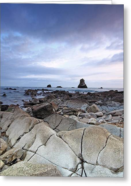 Mupe Bay Greeting Card by Ollie Taylor