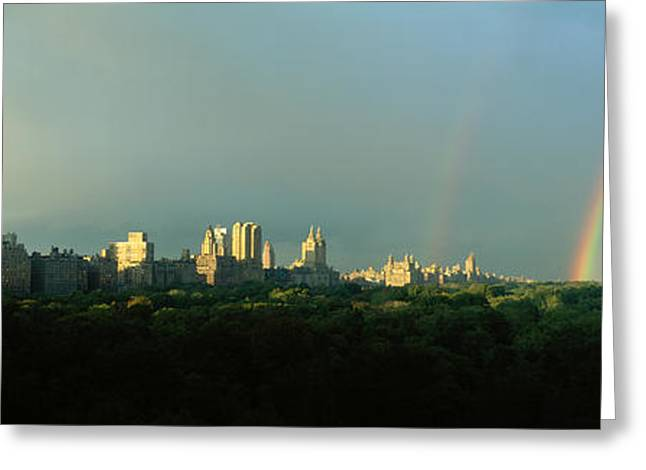 Office Space Greeting Cards - Nyc, New York City New York State, Usa Greeting Card by Panoramic Images
