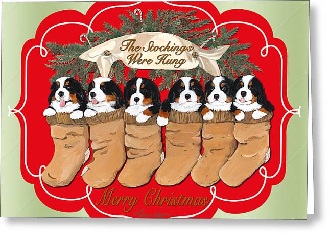Berner Greeting Cards - 6 Pack Greeting Card by Liane Weyers