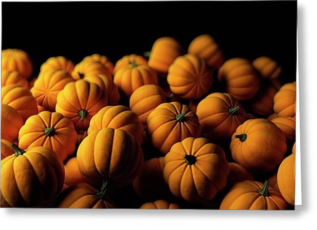 Pumpkins Greeting Card by Sebastian Kaulitzki