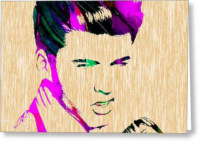 Ricky Nelson Collection Greeting Card by Marvin Blaine