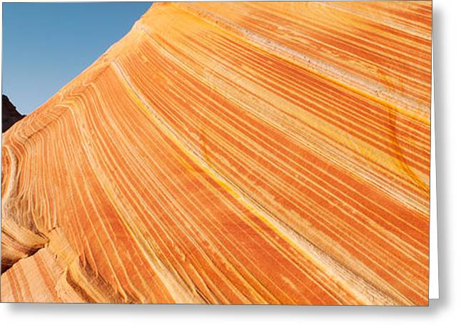 Paria Greeting Cards - Sandstone Rock Formations, The Wave Greeting Card by Panoramic Images