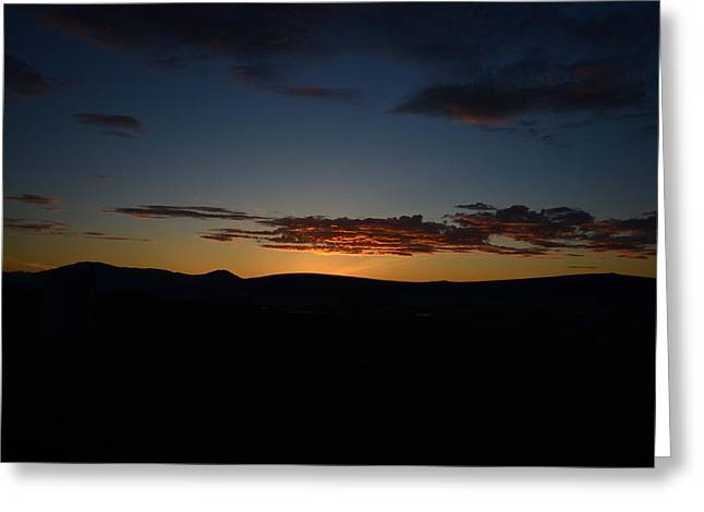 Sunset Greeting Cards - Solstice Greeting Card by James Petersen