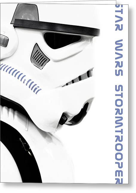 Amusements Greeting Cards - Star wars stormtrooper Greeting Card by Toppart Sweden