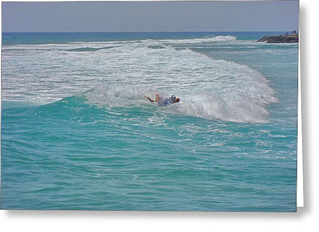 Arona Greeting Cards - Surfing. Canary Islands. Greeting Card by Andy Za
