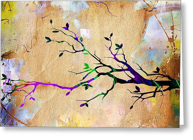 Wall Art Greeting Cards - Tree Branch Collection Greeting Card by Marvin Blaine