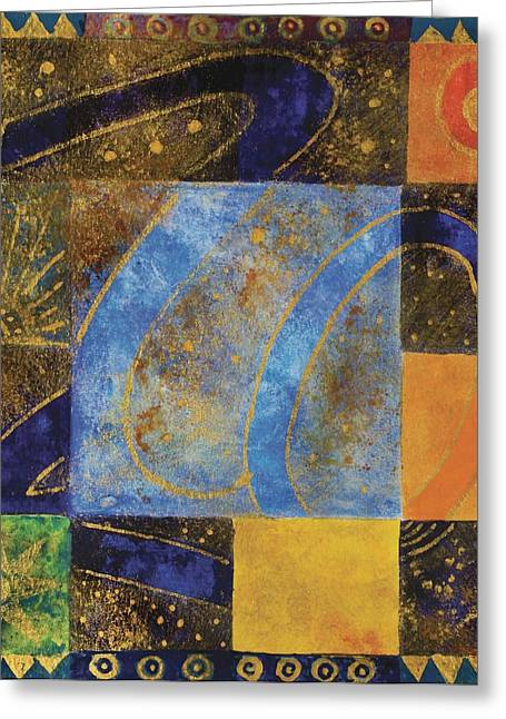 Principles Greeting Cards - Untitled Greeting Card by Sabira Manek