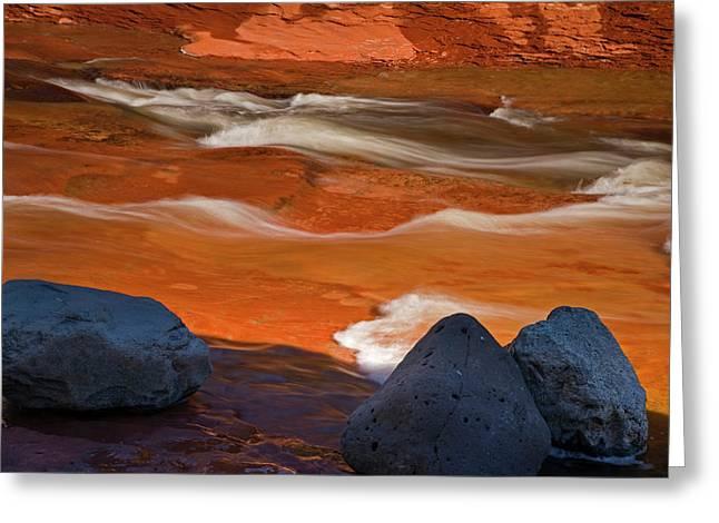 Usa, Arizona, Sedona Greeting Card by Jaynes Gallery