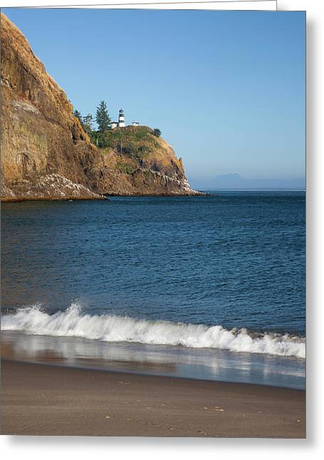Wa, Cape Disappointment State Park Greeting Card by Jamie and Judy Wild