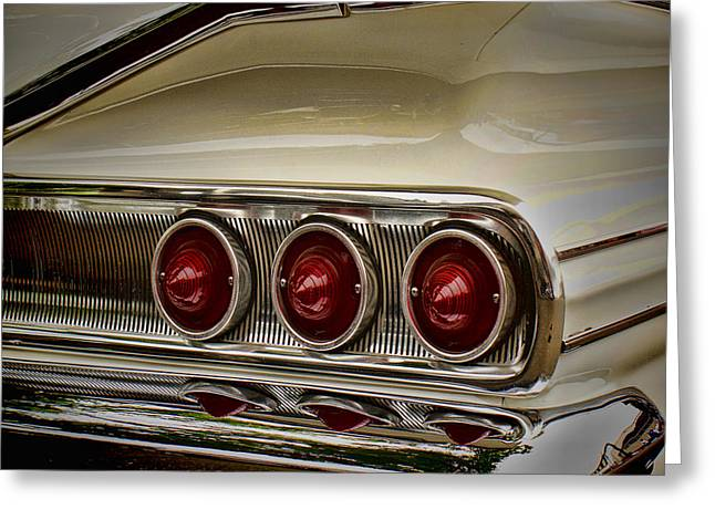 Ron Roberts Photography Greeting Cards Greeting Cards - 60 Chevy Greeting Card by Ron Roberts
