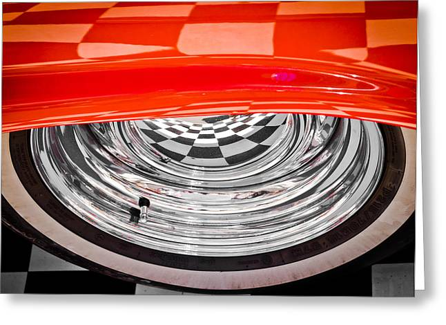 60s Look Greeting Card by Phil 'motography' Clark