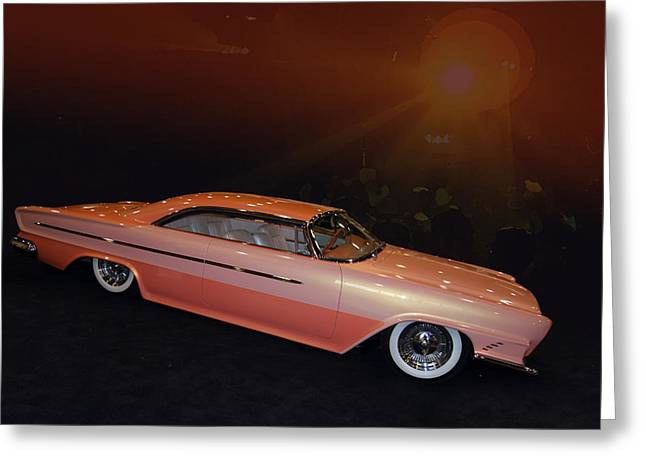 Zocchi Greeting Cards - 62 Chrysler 300 Greeting Card by Bill Dutting