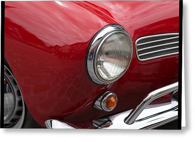 Rally Greeting Cards - Vintage cars Greeting Card by Jorgen Norgaard