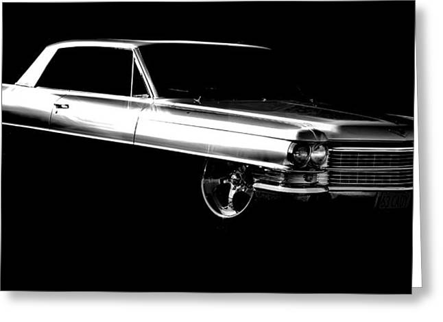 Motography Greeting Cards - 63 Coupe De Ville Greeting Card by motography aka Phil Clark