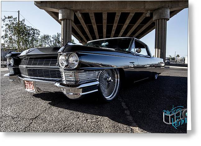 Kenny Jalet Greeting Cards - 64 Cadi Greeting Card by Kenny Jalet