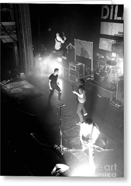 Dillinger Escape Plan Greeting Cards - Untitled Greeting Card by Chiara Corsaro