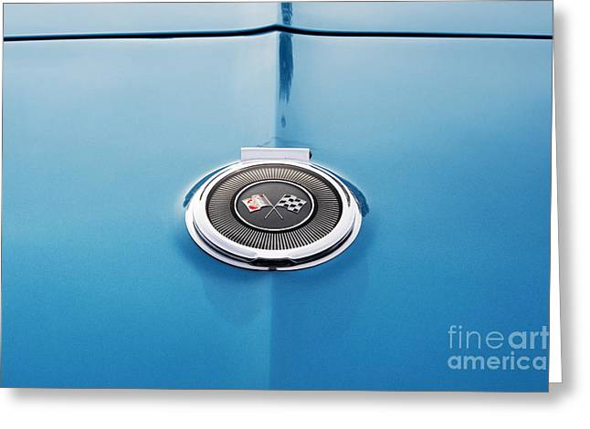 Chevrolet Trunk Greeting Cards - 66 Corvette style Greeting Card by Tim Gainey