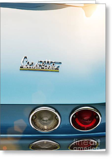 Chevrolet Trunk Greeting Cards - 66 Sting Ray Greeting Card by Tim Gainey