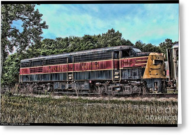 1420 Greeting Cards - 6767 Engine Dead for 20 Years Greeting Card by Duane Loya