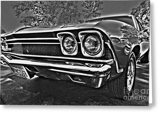 68 Chevelle Greeting Card by Cheryl Young
