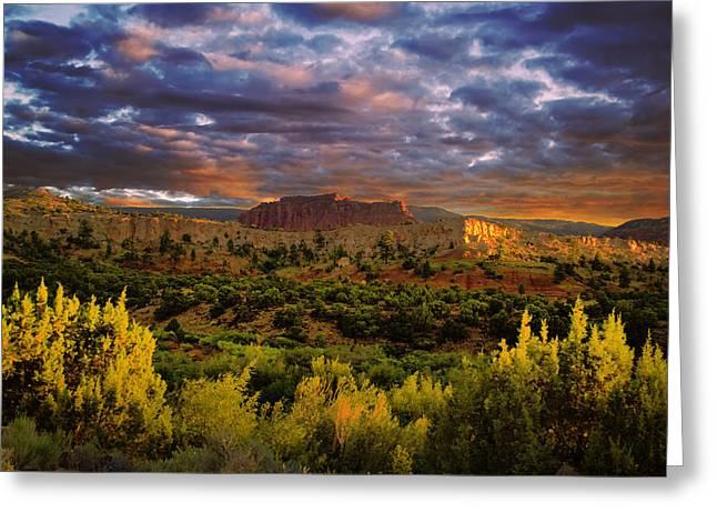 Grand Circle Greeting Cards - Capitol Reef National Park Greeting Card by Mark Smith