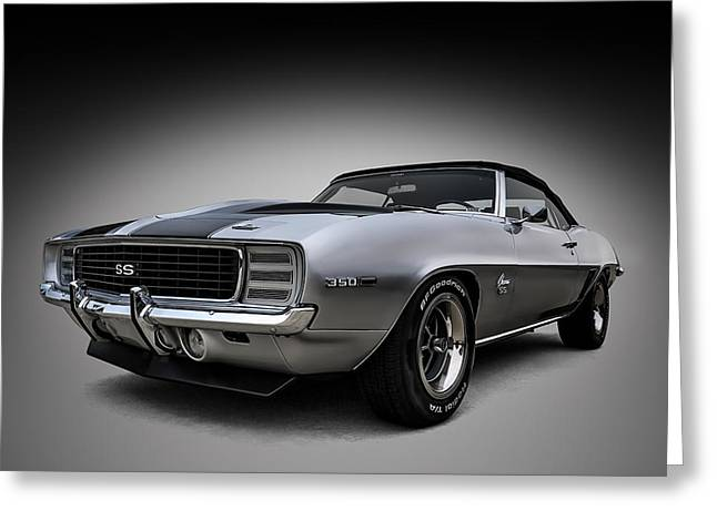 Sportscar Greeting Cards - 69 Camaro SS Greeting Card by Douglas Pittman