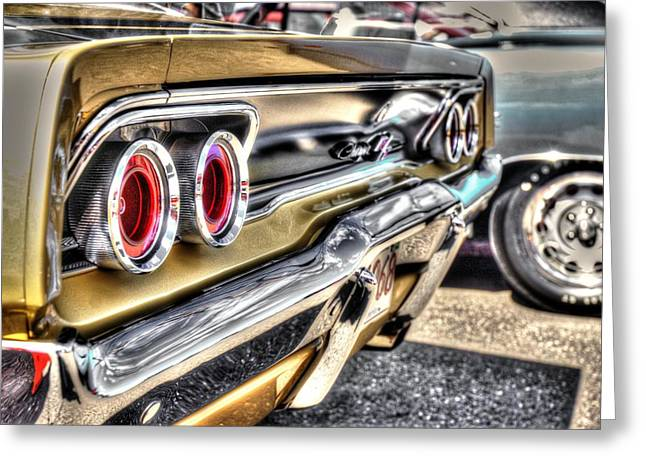 Bad Ass Digital Art Greeting Cards - 69 Charger Greeting Card by Ryan Doray