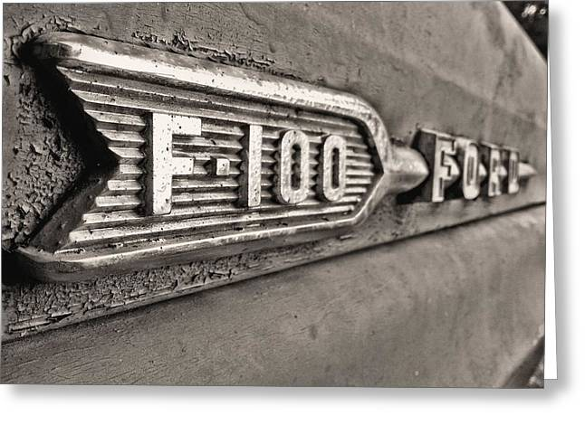 69 F-100 Greeting Card by JC Findley