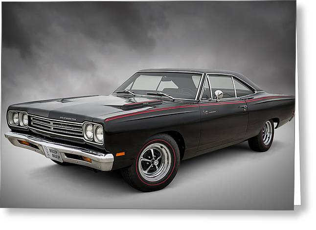 Mopar Greeting Cards - 69 Roadrunner Greeting Card by Douglas Pittman