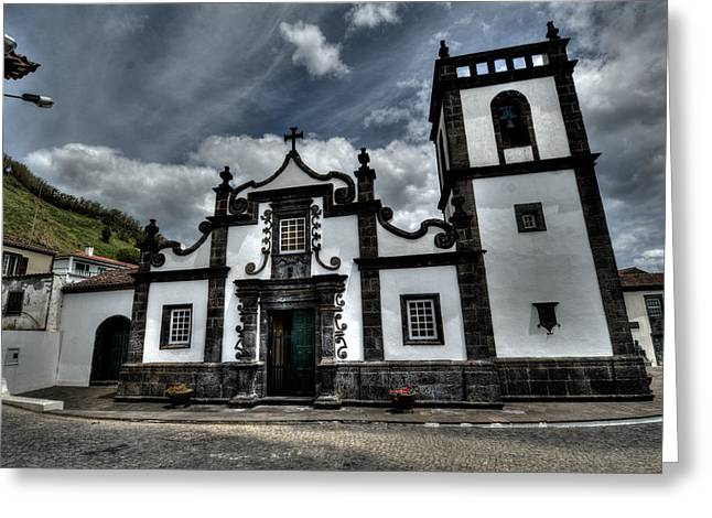 Generators Greeting Cards - Architecture Soa Miguel Azores Greeting Card by Joseph Amaral