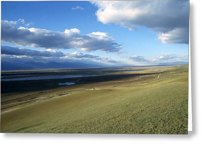Landscape Photograph Greeting Cards - Baikal Greeting Card by Anonymous