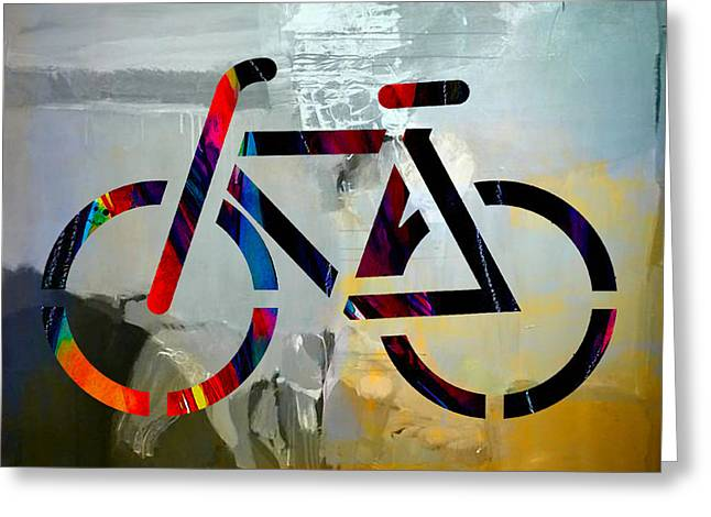Den Greeting Cards - Bike Greeting Card by Marvin Blaine