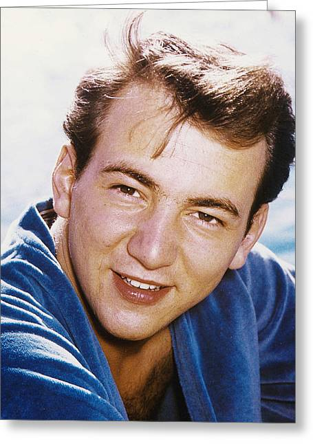 Bobby Greeting Cards - Bobby Darin Greeting Card by Silver Screen
