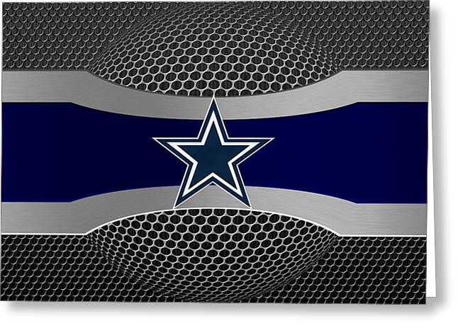 Dallas Photographs Greeting Cards - Dallas Cowboys Greeting Card by Joe Hamilton
