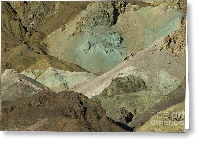 Hematite Greeting Cards - Death Valley, Ca Greeting Card by Richard and Ellen Thane