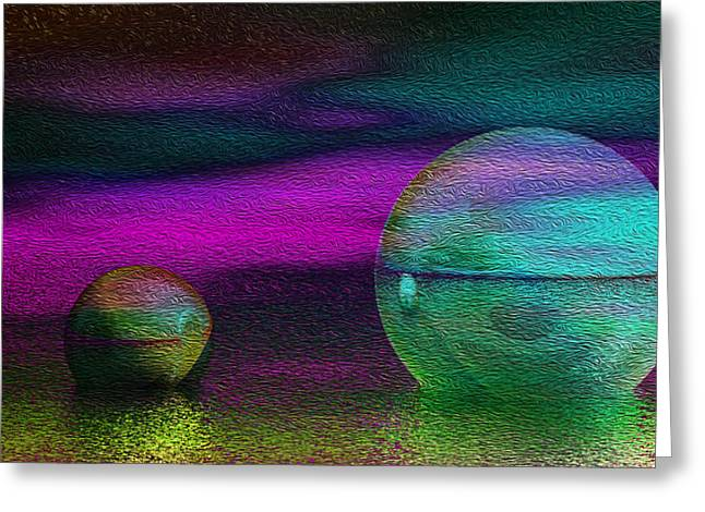 Dream Scapes Series One Greeting Card by Sir Josef Social Critic - ART